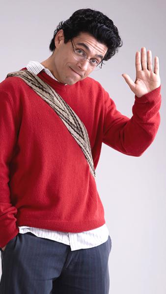 Santiago Alarcón es Jaime Garzón